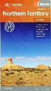 Cover-Bild zu Hema Map State North Territory 1:1 800 000