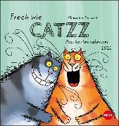 Cover-Bild zu Catzz Postkartenkalender Kalender 2021 von Holzach, Alexander