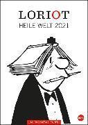 Cover-Bild zu Loriot Heile Welt Halbmonatskalender Kalender 2021 von Loriot