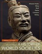 Cover-Bild zu Wiesner-Hanks, Merry E: A History of World Societies, Volume 1