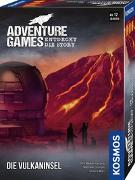 Cover-Bild zu Adventure Games - Die Vulkaninsel