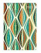 Cover-Bild zu Ladytimer Mini Retro 2022 - Taschen-Kalender 8x11,5 cm - Muster - Weekly - 144 Seiten - Notiz-Buch - Alpha Edition
