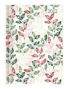 Cover-Bild zu Minitimer Style Blätter 2022 - Taschen-Kalender A6 - Weekly - 192 Seiten - Notiz-Buch - mit Info- und Adressteil - Alpha Edition