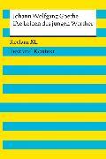 Cover-Bild zu Die Leiden des jungen Werther. Textausgabe mit Kommentar und Materialien von Goethe, Johann Wolfgang