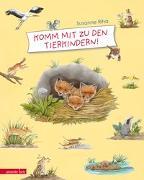 Cover-Bild zu Riha, Susanne: Komm mit zu den Tierkindern!