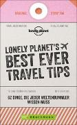 Cover-Bild zu LONELY PLANET´S BEST EVER TRAVEL TIPS