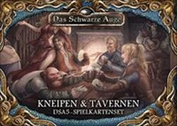Cover-Bild zu Das Schwarze Auge - Kneipen und Tavernen. Spielkartenset