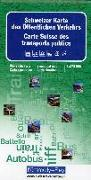 Cover-Bild zu Hallwag Kümmerly+Frey AG (Hrsg.): Schweiz Karte des Öffentlichen Verkehrs. 1:275'000