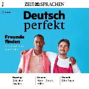 Cover-Bild zu Begisheva, Alia: Deutsch lernen Audio - Freunde finden (Audio Download)