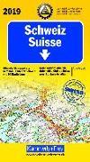 Cover-Bild zu Schweiz ACS 2019. 1:275'000 von Hallwag Kümmerly+Frey AG (Hrsg.)