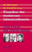Cover-Bild zu Klassiker der modernen Literaturtheorie
