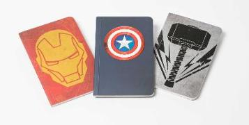 Cover-Bild zu Insight Editions: Marvel's Avengers Pocket Notebook Collection (Set of 3)