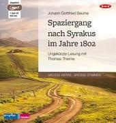 Cover-Bild zu Seume, Johann Gottfried: Spaziergang nach Syrakus im Jahre 1802