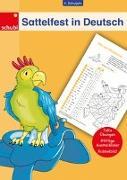Cover-Bild zu Woicke, Melanie (Illustr.): Sattelfest in Deutsch, 4. Schuljahr