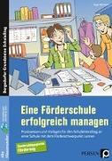 Cover-Bild zu Eine Förderschule erfolgreich managen von Altenkirch, Birgit