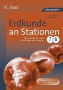 Cover-Bild zu Erdkunde an Stationen 7/8 von Gellner, Lars