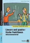 Cover-Bild zu Lineare und quadratische Funktionen - Inklusionsmaterial von Spellner, Cathrin
