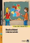 Cover-Bild zu Deutschland - Inklusionsmaterial von Spellner, Cathrin