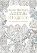 Cover-Bild zu Millie Marotta's Animal Kingdom Postcard Book von Marotta, Millie