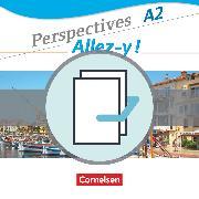 Cover-Bild zu Delacroix, Anne: Perspectives - Allez-y !, A2, Kurs- und Übungsbuch und Sprachtraining im Paket, Mit Wortschatztrainer, CDs und Video-DVD