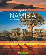 Cover-Bild zu Highlights Namibia mit Okavango-Delta und Viktoriafällen von Heeb, Christian