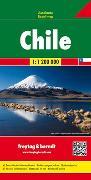 Cover-Bild zu Freytag-Berndt und Artaria KG (Hrsg.): Chile, Autokarte 1:1,2 Mio. 1:1'200'000
