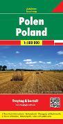 Cover-Bild zu Freytag-Berndt und Artaria KG (Hrsg.): Polen, Autokarte 1:500.000. 1:500'000