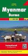 Cover-Bild zu Freytag-Berndt und Artaria KG (Hrsg.): Myanmar - Burma, Autokarte 1:1.000.000. 1:1'000'000