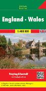 Cover-Bild zu Freytag-Berndt und Artaria KG (Hrsg.): England - Wales, Autokarte 1:400.000. 1:400'000