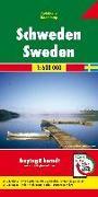 Cover-Bild zu Freytag-Berndt und Artaria KG (Hrsg.): Schweden, Autokarte 1:600.000. 1:600'000