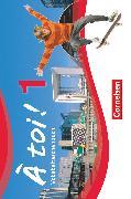 Cover-Bild zu À toi !, Vierbändige Ausgabe, Band 1, Vokabeltaschenbuch