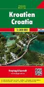 Cover-Bild zu Freytag-Berndt und Artaria KG (Hrsg.): Kroatien, Autokarte 1:500.000. 1:500'000