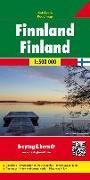 Cover-Bild zu Freytag-Berndt und Artaria KG (Hrsg.): Finnland, Autokarte 1:500.000. 1:500'000