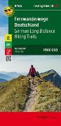 Cover-Bild zu Freytag-Berndt und Artaria KG (Hrsg.): Fernwanderwege Deutschland, Weitwanderkarte 1:900.000. 1:900'000