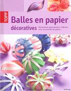 Cover-Bild zu Balles en papier décoratives