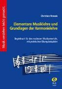 Cover-Bild zu Elementare Musiklehre und Grundlagen der von Nowak, Christian (Komponist)