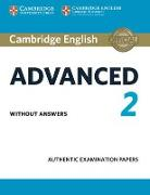 Cover-Bild zu Cambridge English Advanced 2 Student's Book Without Answers