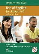 Cover-Bild zu Improve your Skills for Advanced (CAE): Use of English for Advanced (CAE). Student's Book with MPO and Key von Mann, Malcolm
