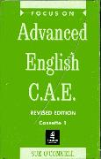 Cover-Bild zu Focus on Advanced English: CAE Focus on Advanced English: CAE Class Audio Cassettes (2) - Focus on Advanced English CAE von O'Connell, Sue