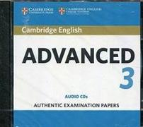 Cover-Bild zu Cambridge English Advanced 3 Audio CDs
