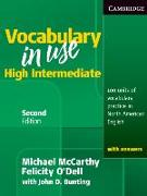 Cover-Bild zu Vocabulary in Use. Higher Intermediate von McCarthy, Michael