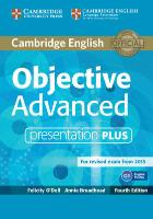 Cover-Bild zu Objective Advanced Presentation Plus DVD-ROM von O'Dell, Felicity