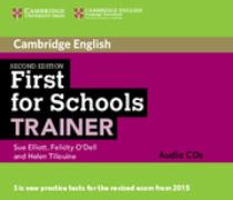 Cover-Bild zu First for Schools Trainer Audio CDs (3) von Elliott, Sue