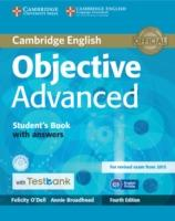 Cover-Bild zu Objective Advanced Student's Book with Answers with CD-ROM with Testbank von O'Dell, Felicity