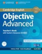 Cover-Bild zu Objective Advanced. Teacher's Book with Teacher's Resources von O'Dell, Felicity