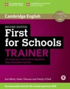 Cover-Bild zu Cambridge English. First for Schools. Trainer. With Audio von Elliott, Sue