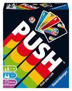 Cover-Bild zu Ravensburger 26828 - Push, Unterhaltsames Kartenspiel für die ganze Familie, Risiko ab 8 Jahren, Ablegespiel für 2-6 Spieler