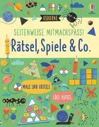 Cover-Bild zu Maclaine, James: Seitenweise Mitmachspaß! Rätsel, Spiele & Co