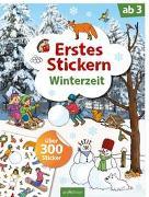 Cover-Bild zu Coenen, Sebastian (Illustr.): Erstes Stickern Winterzeit
