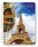 Cover-Bild zu Paris 2022 - Diary - Buchkalender - Taschenkalender - 16,5x21,6